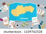 slovakia economy country growth ... | Shutterstock .eps vector #1109762528