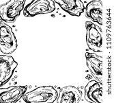 sketch frame illustration of... | Shutterstock .eps vector #1109763644