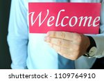 w  are hiring    labour wanted. ...   Shutterstock . vector #1109764910