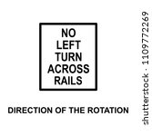direction of the rotation icon. ...