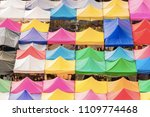 bird eyes view of multi colored ...   Shutterstock . vector #1109774468