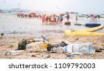 trash from the dumping of... | Shutterstock . vector #1109792003