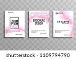 modern business brochure... | Shutterstock .eps vector #1109794790