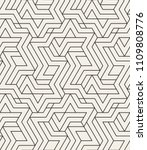 abstract geometric pattern with ... | Shutterstock .eps vector #1109808776