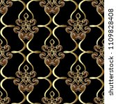 ornamental vintage vector... | Shutterstock .eps vector #1109828408