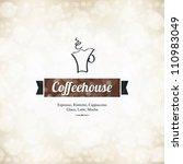 menu for restaurant  cafe  bar  ... | Shutterstock .eps vector #110983049
