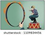 stock illustration. people in... | Shutterstock .eps vector #1109834456