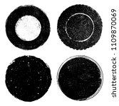 vector grunge stamps.grunge... | Shutterstock .eps vector #1109870069