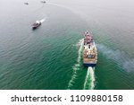 bird's eye view from drone of... | Shutterstock . vector #1109880158