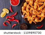 delicious crunchy corn flakes... | Shutterstock . vector #1109890730