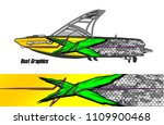 boat decal graphic vector for...   Shutterstock .eps vector #1109900468