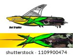 boat decal graphic vector for...   Shutterstock .eps vector #1109900474