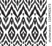 the intricate ikat pattern on... | Shutterstock .eps vector #1109902673