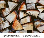 firewood background  wall...