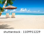 summer photo of beach and free... | Shutterstock . vector #1109911229