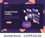 modern flat design isometric... | Shutterstock .eps vector #1109916146
