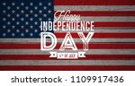 happy independence day of the... | Shutterstock .eps vector #1109917436