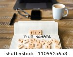 closeup on notebook over... | Shutterstock . vector #1109925653