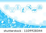 abstract background technology... | Shutterstock .eps vector #1109928344