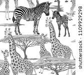 seamless pattern  background ... | Shutterstock .eps vector #1109929298