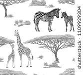 seamless pattern  background ... | Shutterstock .eps vector #1109929304