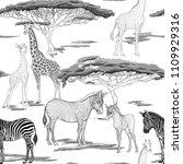 seamless pattern  background ...   Shutterstock .eps vector #1109929316
