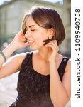 closeup portrait of smiling...   Shutterstock . vector #1109940758