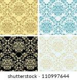 wallpaper set - stock vector