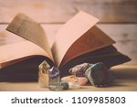 mystical composition with... | Shutterstock . vector #1109985803
