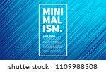 dynamic flow brigt vivid blue... | Shutterstock .eps vector #1109988308