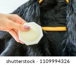 a female's hand with anti moth... | Shutterstock . vector #1109994326