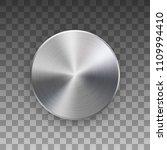 metal circle badge  blank... | Shutterstock .eps vector #1109994410