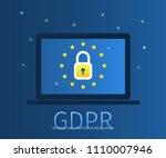 concept of general data... | Shutterstock .eps vector #1110007946