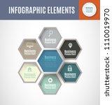 business process chart... | Shutterstock .eps vector #1110019970