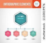 business process chart... | Shutterstock .eps vector #1110019976