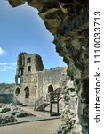 Ruins Of An Old Castle Through...
