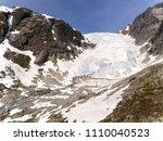 photo of tuftebreen   glacier... | Shutterstock . vector #1110040523