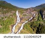 photo of latefossen   rapid... | Shutterstock . vector #1110040529