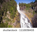 photo of latefossen   rapid... | Shutterstock . vector #1110058433
