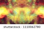blue dark night sky with many... | Shutterstock . vector #1110062780