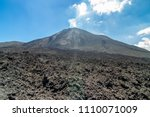 volcano pacaya in guatemala   Shutterstock . vector #1110071009