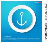 anchor icon abstract blue web...