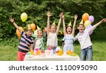 holidays  childhood and... | Shutterstock . vector #1110095090