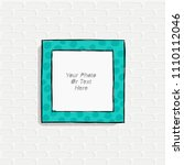 cartoon style. decorative... | Shutterstock .eps vector #1110112046