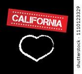 california city slogan... | Shutterstock .eps vector #1110123329