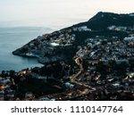 beautiful night photograph of...   Shutterstock . vector #1110147764
