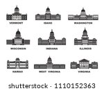 united states of america.... | Shutterstock .eps vector #1110152363