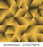 abstract dots background.... | Shutterstock .eps vector #1110174674