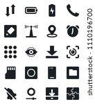 set of vector isolated black...   Shutterstock .eps vector #1110196700