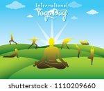 creative poster design of... | Shutterstock .eps vector #1110209660